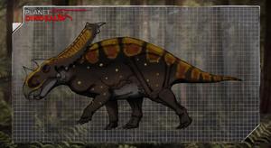 Dinovember day 14 - Chasmosaurus by kingrexy