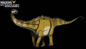 Dinovember day 18 - Diplodocus by kingrexy