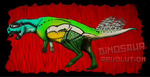 Dinovember day 20 - psittacosaurus by kingrexy