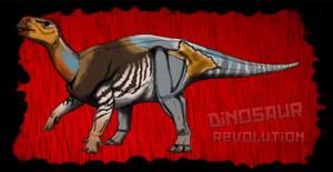 Dinovember day 17 - Iguanodon by kingrexy