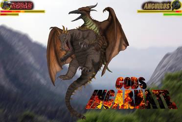 Gods Incarnate: Angirasu vs Radon by kingrexy