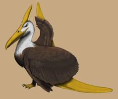Pteranodon but it's an eagle (Paraquilis joeii)