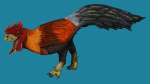 Tyrannosaurus but it's a chicken (Averex)