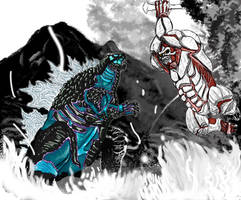 Atomic Titan vs Berserker Titan