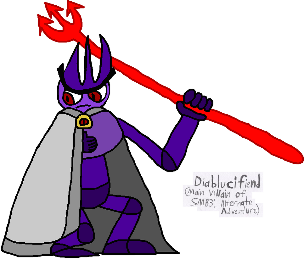 The Main Villain of SMB3AA by GoldenEubank21