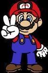 OK KO-Styled Mario