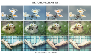 Photoshop Actions Set 1