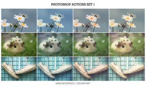 Photoshop Actions Set 1 by wandadomingo