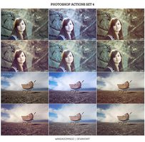 Photoshop Actions Set 4 by wandadomingo