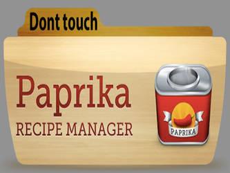 Paprika recipe folder , colorflow