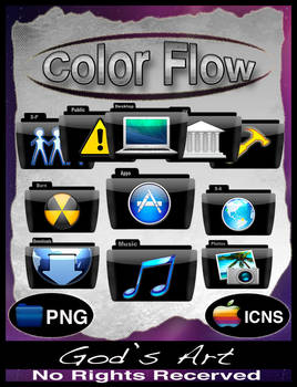 Black folders colorflow