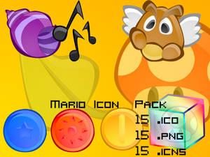 Mario Icon Pack