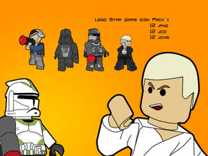 Lego Star Wars Icon Pack