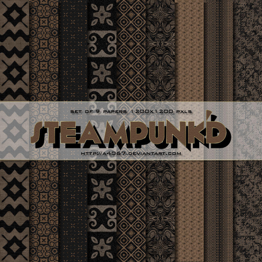 Steampunk'd Papers by A4067