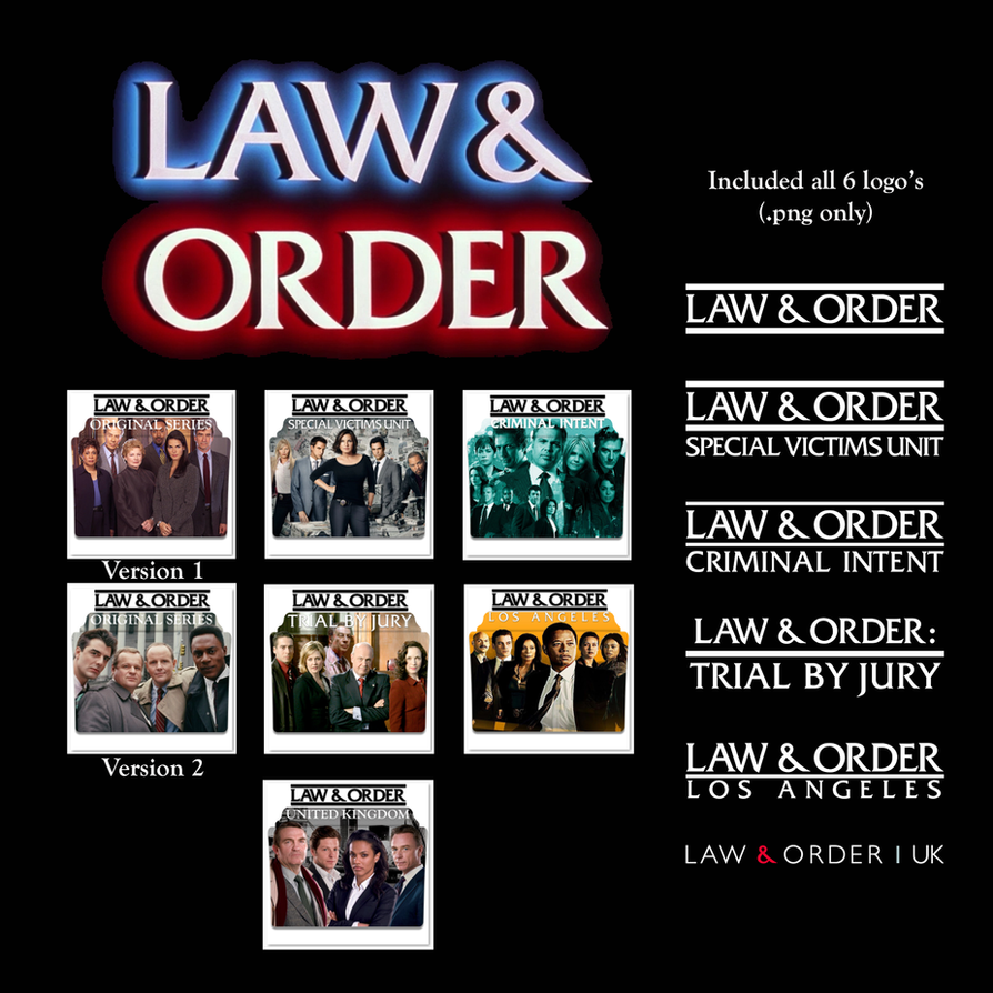 law and order series folder icons by vamps1 on deviantart