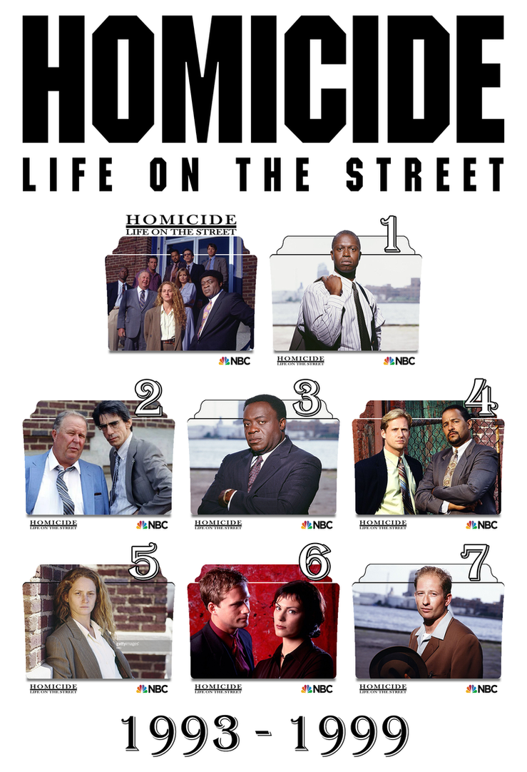 Homicide Life on the Streets series\season icons by Vamps1 ...