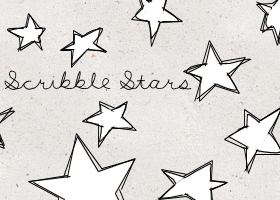 Scriblee Star Brushes by killtheliights