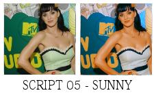 Sunny Script by killtheliights