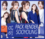 Render Pack 9 - Sooyoung (SNSD)