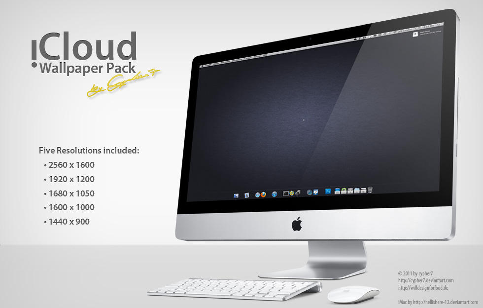 iCloud Desktop-Wallpaper Pack by cypher7