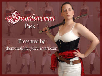 Swordswoman Pack 1 by themuseslibrary