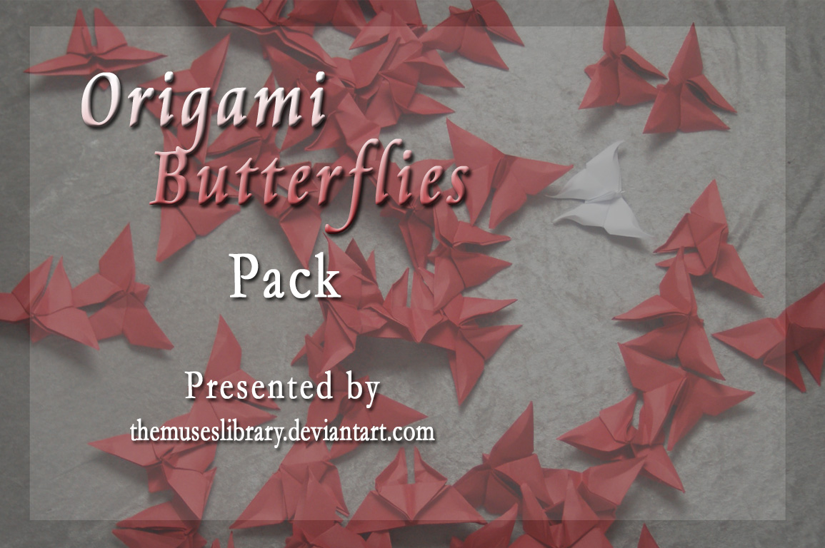 Origami Butterflies PACK