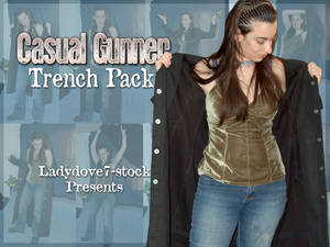 Casual Gunner Trench PACK 1