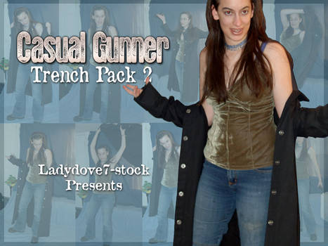 Casual Gunner Trench PACK 2