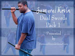 Samurai Kevin Dual Swords PACK 1