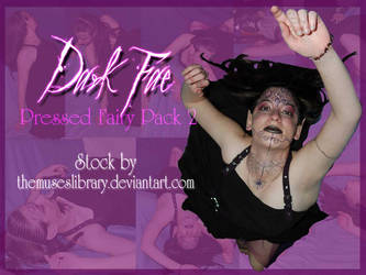 Dark Fae Pressed Fairy PACK 2 by themuseslibrary