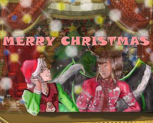 Postal - Merry Christmas!