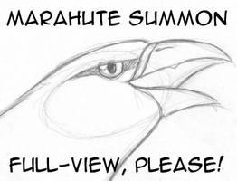 Marahute Summon by LynxGriffin