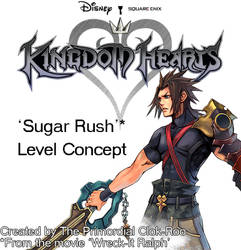 Kingdom Hearts level concept (fan-made) by Clok-Roo