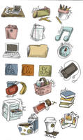 back to school icons preview