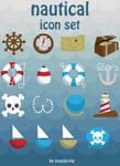Nautical Icon Set--download