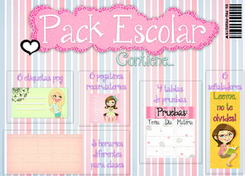 Pack Escolar by Pau-Payasita