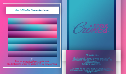 Gradients #028 by SorixStudio