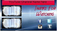 YouTube Outro 2 by ElectricFreestyle