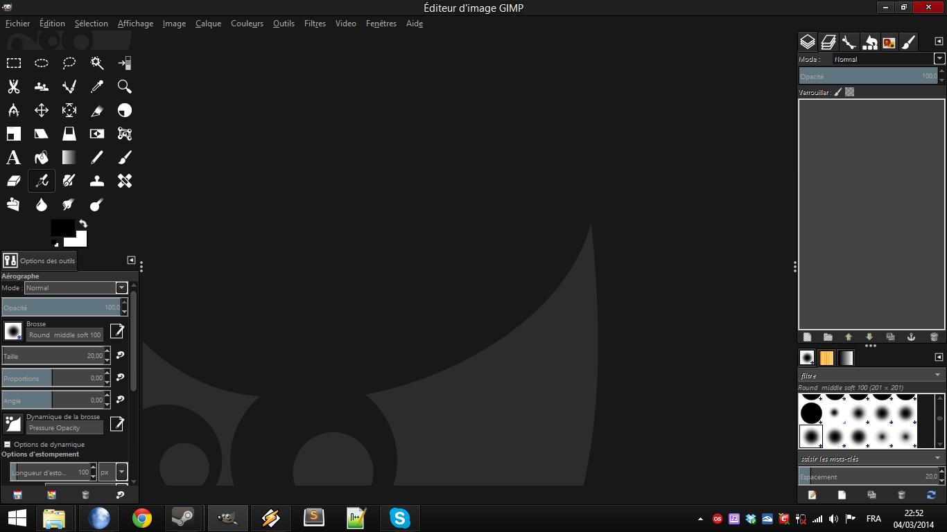 DarkBlack Theme for GIMP