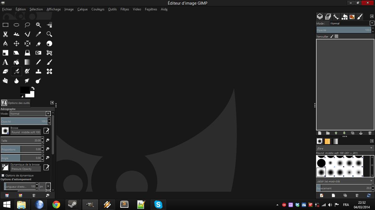 darkblack theme for gimp by tarkan t29 on deviantart
