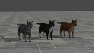 GTAV cats for XNAlara/XPS