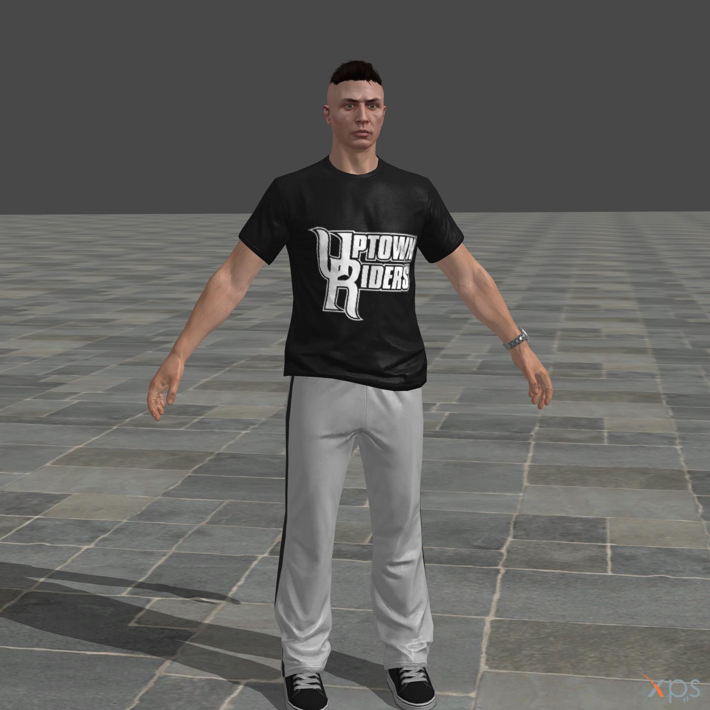 GTAV Online male character for XNAlara/XPS by ParametricEQ on DeviantArt