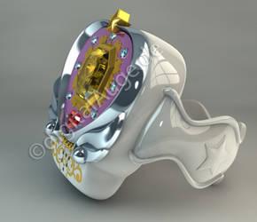 Sailor Moon PGSM - Star jewelry bracelet 3D GIF