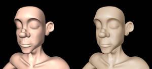 Skin shading in Maya - part 1