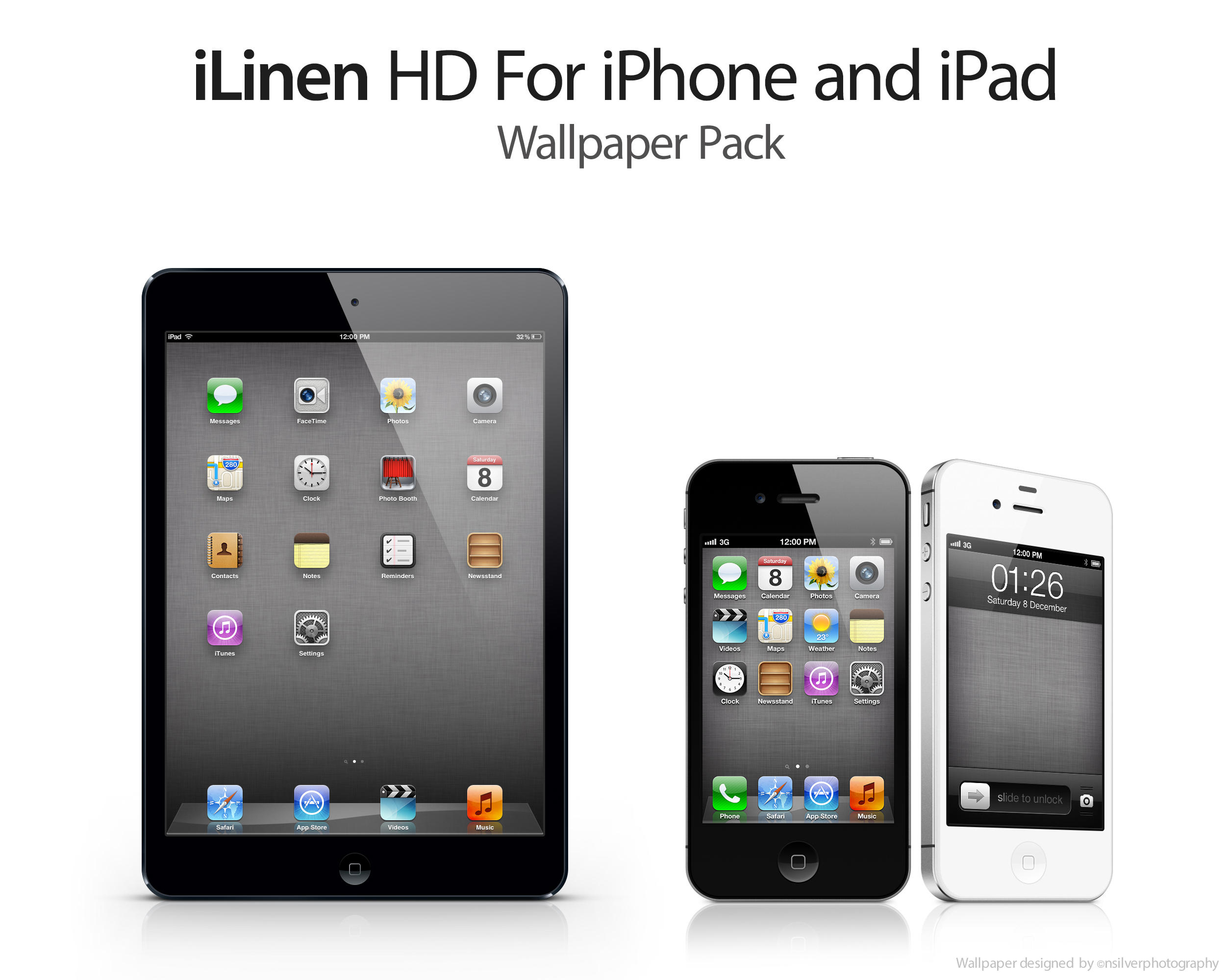 Ipad Retina Wallpaper: ILinen HD: Retina IPhone And IPad Wallpaper By