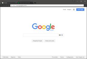 Chrome minimal theme Windows 10 by CleytonPr