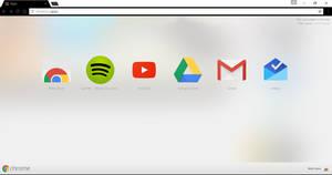 Minimal Black theme for Chrome by CleytonPr