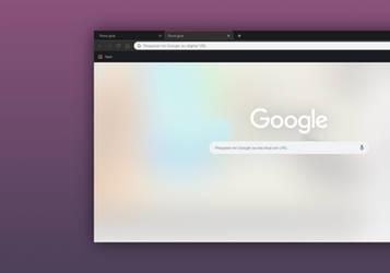 Chrome minimal black 2 by CleytonPr