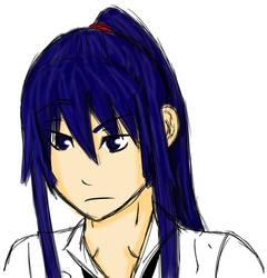 Kanda school uniform GIF