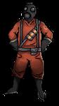 Team Fortress 2: Pyro Pagedoll by serpchi